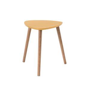 NOMADE petite table basse triangulaire (Jaune)